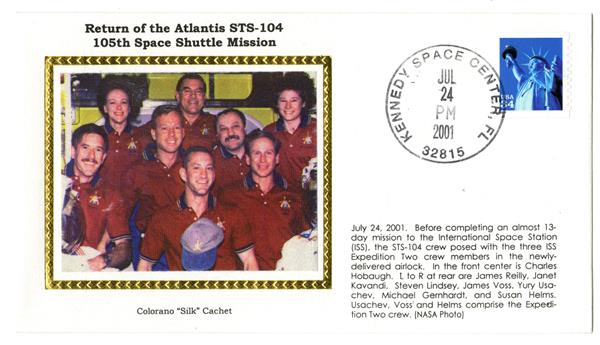 STS-104 Return Cover