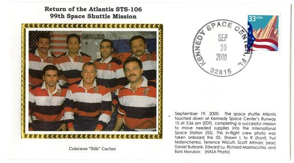 STS-106 Return Cover