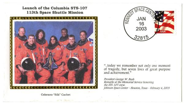 STS-107 Launch Cover