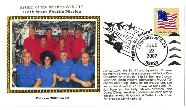 STS-117 Return Cover