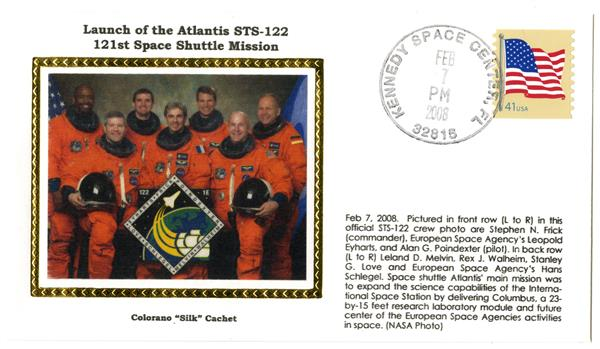 STS-122 Launch Cover