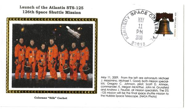 STS-125 Launch Cover
