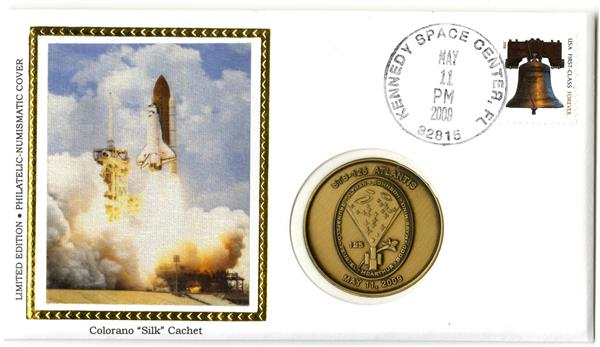 STS-125 Medallic Cover
