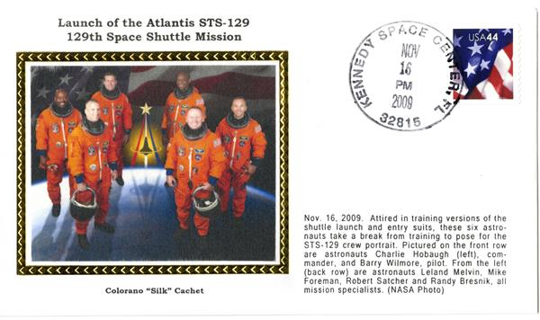 STS-129 Launch Cover
