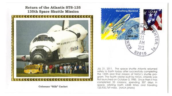 STS-135 Return Cover