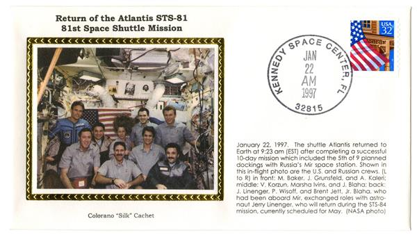 STS-81 Launch Cover
