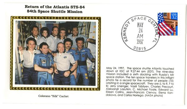 STS-84 Return Cover
