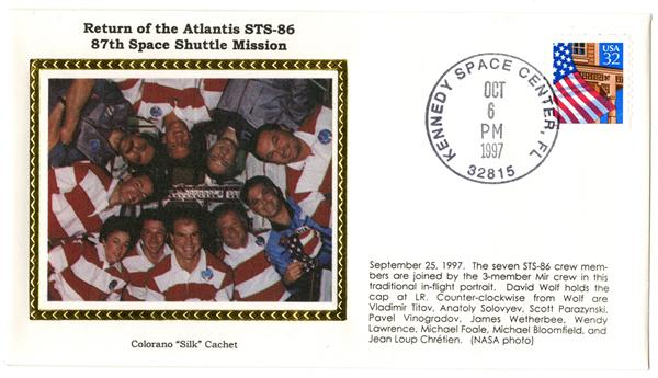 STS-86 Return Cover