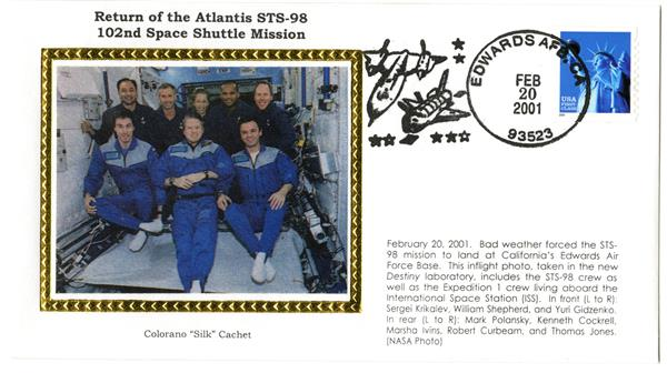 STS-98 Return Cover