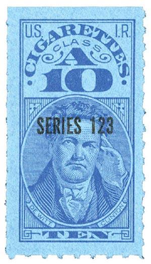 1953, 10 Cigarettes, Class A, Series 123