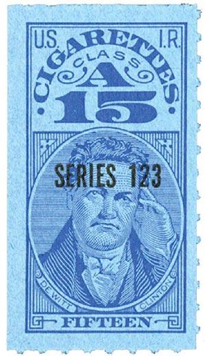 1953, 15 Cigarettes, Class A, Series 123
