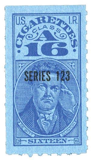 1953, 16 Cigarettes, Class A, Series 123