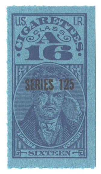 1955, 16 Cigarettes, Class A, Series 125
