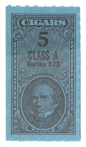 1953, 5 Cigars, Class A, Series 123