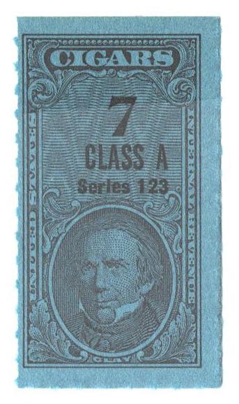 1953, 7 Cigars, Class A, Series 123