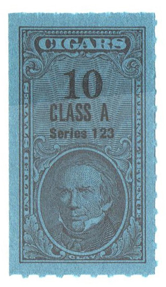 1953, 10 Cigars, Class A, Series 123