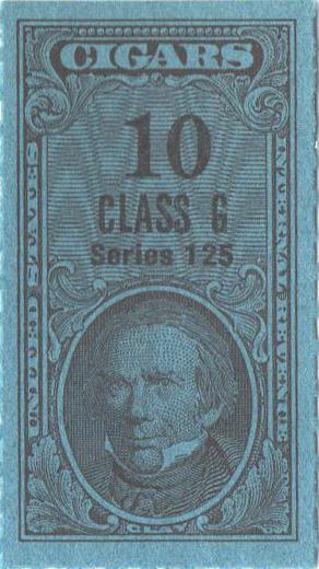 1955, 10 Cigars, Class G, Series 125