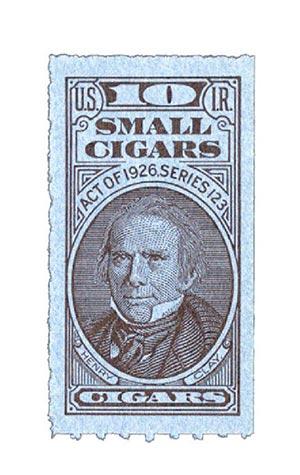1953, 10 Small Cigars, Series 123