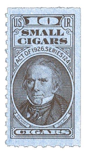 1954, 10 Small Cigars, Series 124