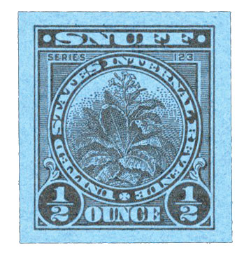 1953, 1/2oz Snuff, Series 123