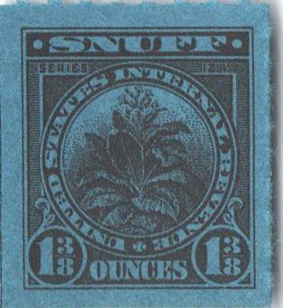1954, 1 3/8oz Snuff, Series 124