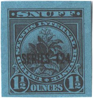 1954, 1 1/2oz Snuff, Series 124