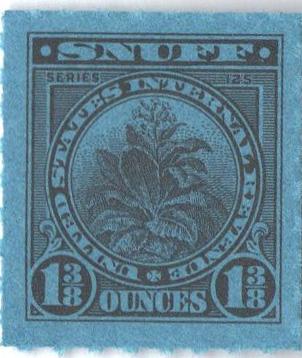 1955, 1 3/8oz Snuff, Series 125