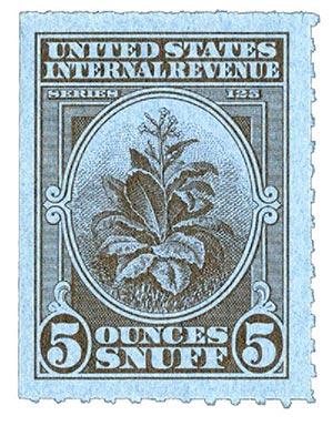 1955, 5oz Snuff, Series 125