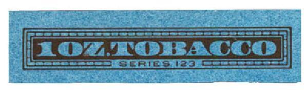 1953, 1oz Tobacco, Series 123