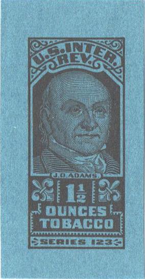 1953, 1 1/2oz Tobacco, Series 123