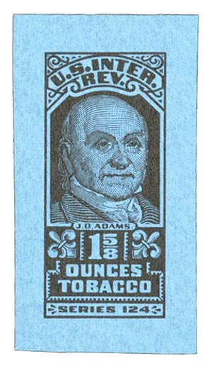 1953, 1 5/8oz Tobacco, Series 123