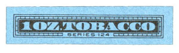 1954, 1oz Tobacco, Series 124