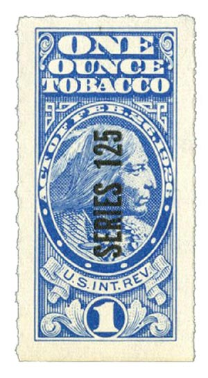 1955, 1oz Tobacco, Series 125