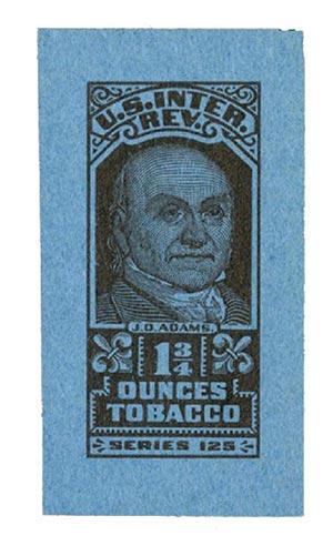 1955, 1 3/4oz Tobacco, Series 125