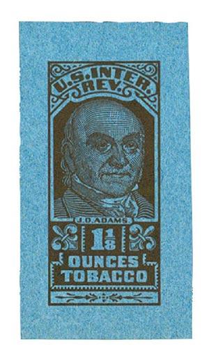 1956-58, 1 1/8oz Tobacco, No Series