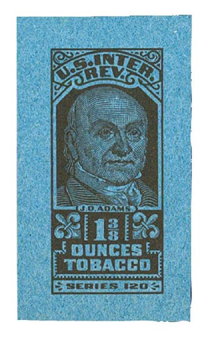 1950, 1 3/8oz Tobacco, Series 120