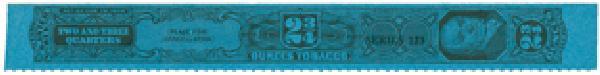 1953, 2 3/4oz Tobacco Strip, Series 123