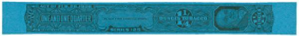 1955, 1 1/4oz Tobacco Strip, Series 125