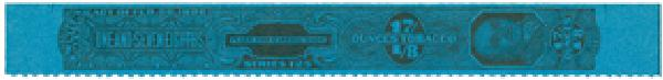 1955, 1 7/8oz Tobacco Strip, Series 125