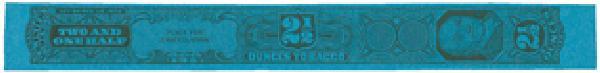 1955, 2 1/2oz Tobacco Strip, Series 125