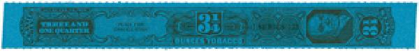 1955, 3 1/4oz Tobacco Strip, Series 125