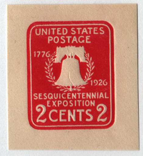 1926 2c Carmine
