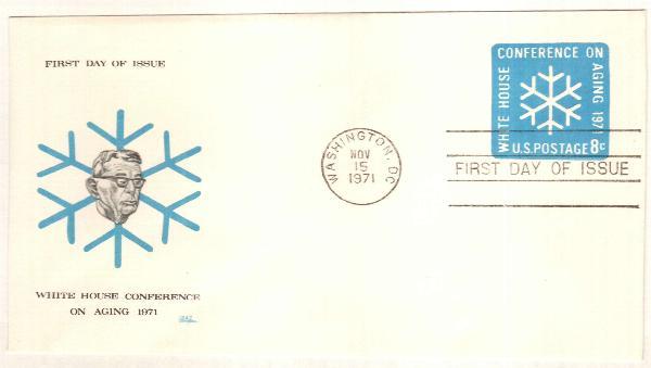 8c light blue 1971