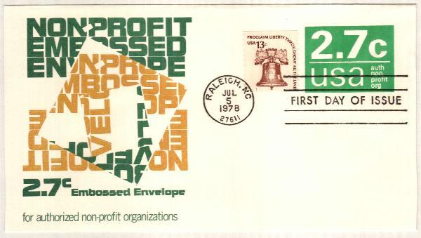 2.7c green 1978 Non-Profit