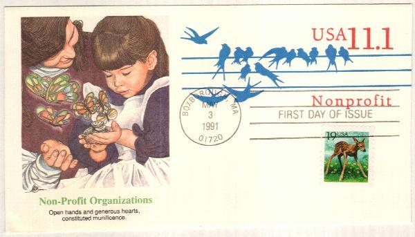 1991 Postal S. Non-Profit