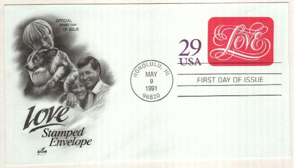 1991 Postal S. Love