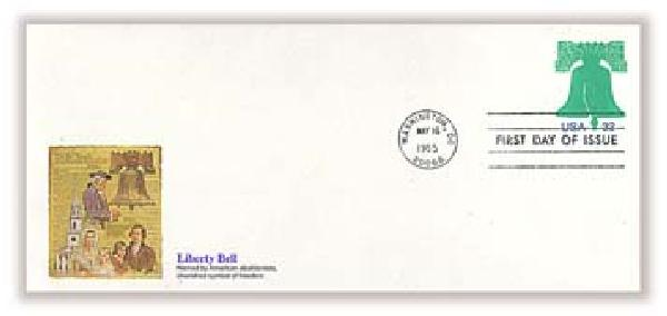 1995 32c Liberty Bell PSE FDC