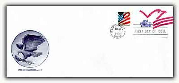 2002 Presorted Standard Graphic Eagle PSE FDC