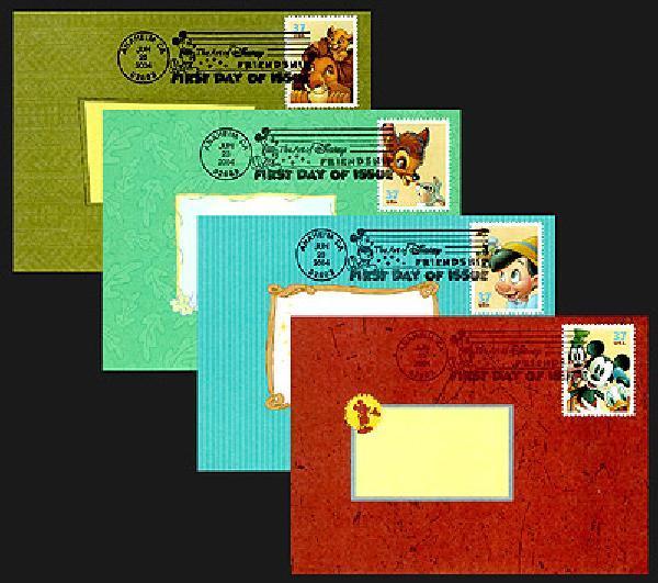 2004 Disney Stationery Set