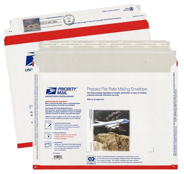 2007 $4.60 Air Force One Pr Mail Envelop